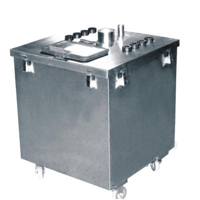 automatic powder coating machine powder container
