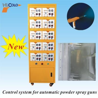 2-10 把静电粉末喷枪控制柜系统