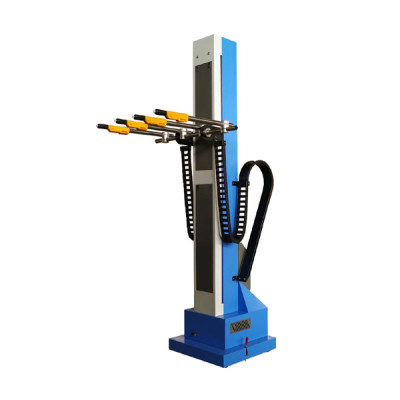 automatic electrostatic powder coating gun for product line