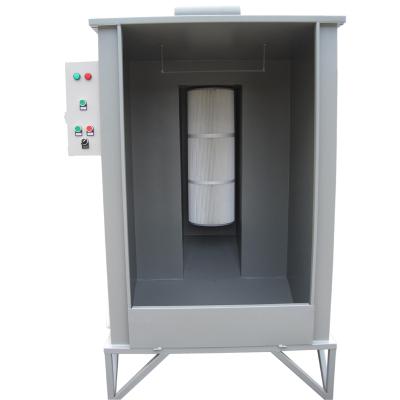 实验性静电喷粉房