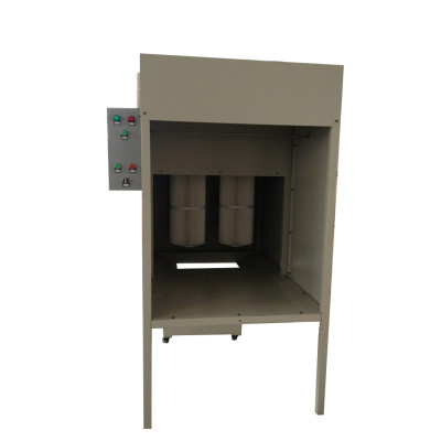 small powder coating booth