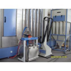 固定式小旋风二级回收系统9个滤芯自动喷房