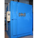 For powder baking building a powder coating oven