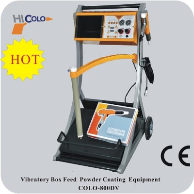Manual Electrostatic Powder Coating Spray Gun And Equipment