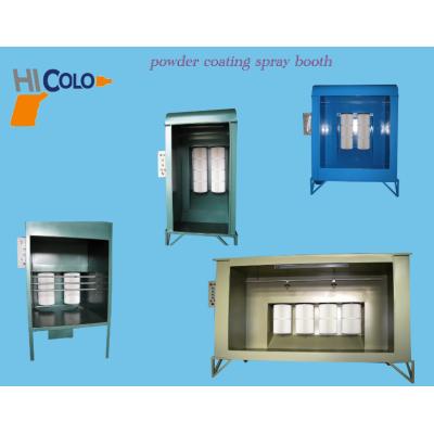 易拆卸易清洁小型组装式简易手动喷粉房