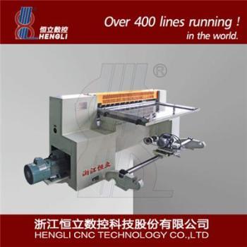 Slitting line for thin sheet