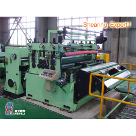 Combine cutting line