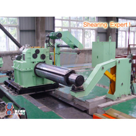 Cut to length line for stainless steel