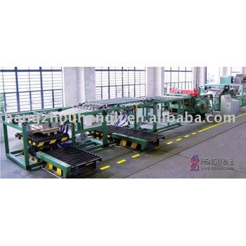 scroll sheeting line