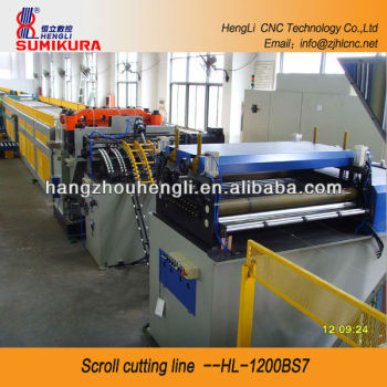 Digital-controlled Scroll Cutting Line