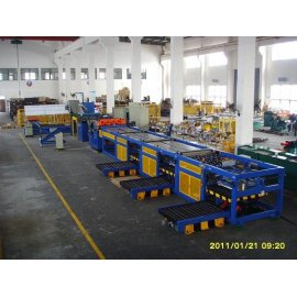 coil cutting line