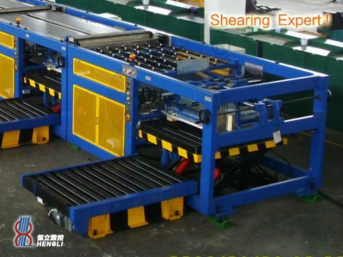 Sheeting machine for tinplate & aluminum