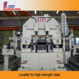 Leveller for high strength steel or aluminum