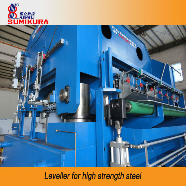 Leveller for high strength steel or aluminum