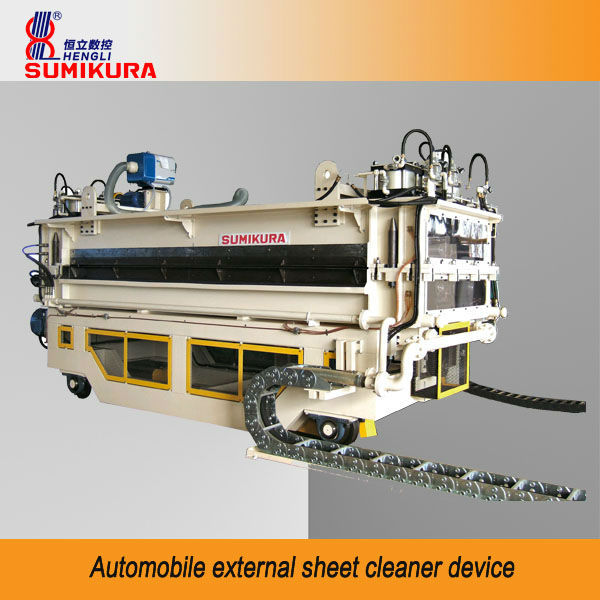 Automobile external sheet cleaner device