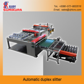 Automatic duplex slitter