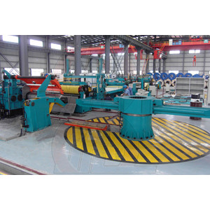 The use of the silicon steel shearing line