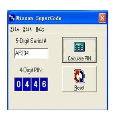 Nissan SuperCode Software