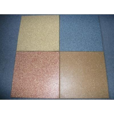 面层彩色EPDM橡胶地垫,EPDM面层橡胶地板 杭州绿谷橡塑制品有限
