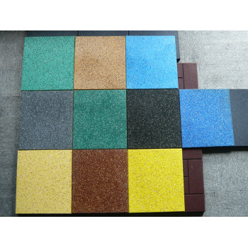 Rubber tile testing report