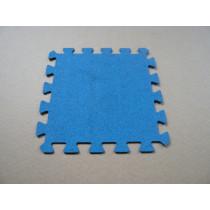 Interlocking  rubber tiles