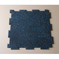 Interlocking rubber flooring/matting