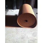 Rubber roll with colorful dots