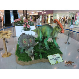 Dinosaurs Exhibition in Mall