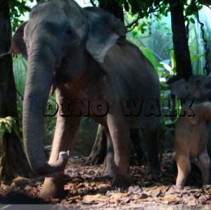 Elephant Animatronics