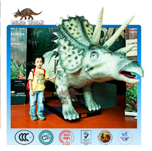 Animatronic Triceratops Ride
