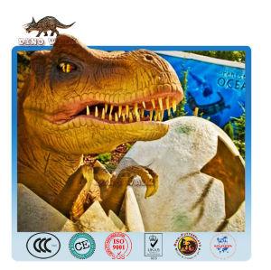 ديناصور متحرك البيض-- اطفال تي ركس