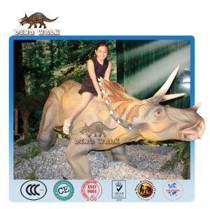Life Size Animatronic Triceratops Model