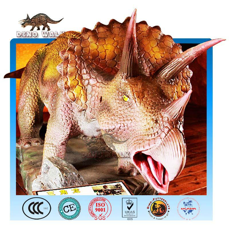 Jurassic Restaurant Animatronic Dinosaur Triceratops