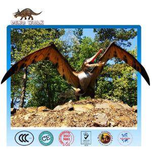 الحديقة الجوراسية متحركالنحت quetzalcoatlus