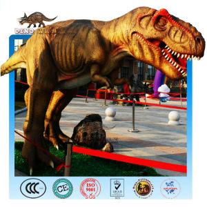 Tyrannosaurus Animatronic in Outdoor Playground