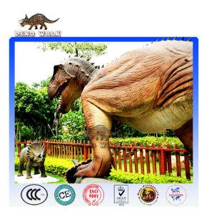 Animatronic dinosaur sculpture