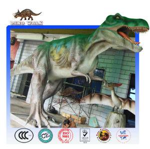 Lifelike T-Rex animatronic dinosaur