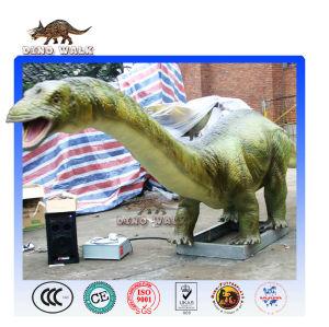Small animatronic dinosaur