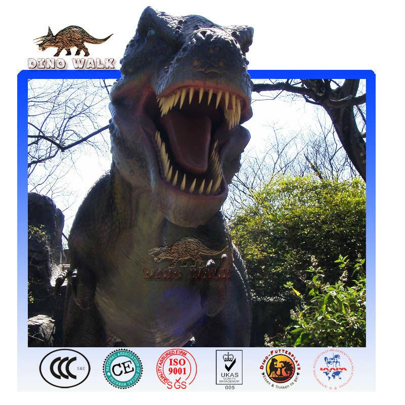 remoto ouside tirannosauro