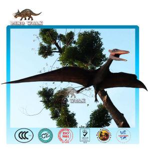 نموذج بالحجم الطبيعي متحركالنحت الزاحف المجنح حيوان منقرض