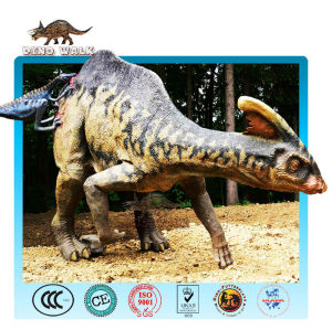 dinopark متحركالنحت parasaurolophus