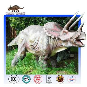animatronics ديناصور ترايسيراتوبس المحاكاة