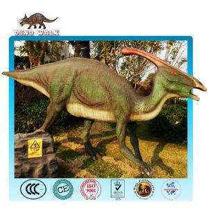 Robotic Parasaurolophus Model
