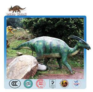 متحف الديناصور المورد-- ديناصور متحرك