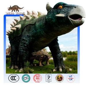 محاكاة ديناصور متحرك ankylosaurus