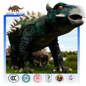 Simulated Animatronic Dinosaur Ankylosaurus