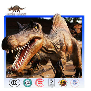 الديناصورات المتحركة متماثلة-- متحركالنحت سبينوصور