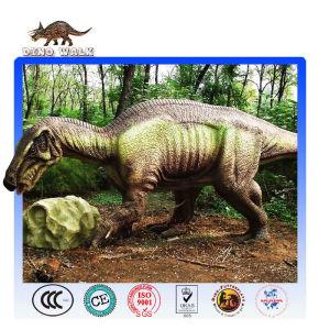 Animatronic Iguanodon Model