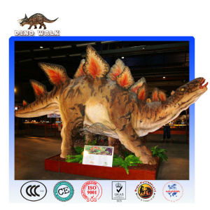 Remote Control Animatronic Dinosaur in Geopark of China