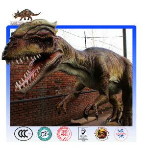 Life Size Animatronic Dilophosaurus